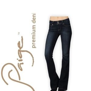 Paige Hidden Hills flare Jeans